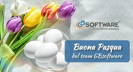 Auguri di Buona Pasqua dal team GBsoftware!