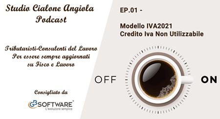 EP.01 Modello IVA2021 Credito Iva Non Utilizzabile