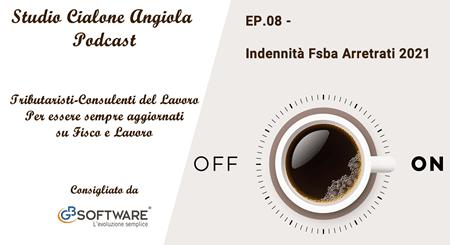 EP 8 - Indennità Fsba Arretrati 2021 - Studio Cialone Angiola - GBsoftware