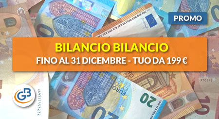AFFRETTATI! Fino al 31 dicembre Bilancio Europeo GB è tuo da € 199 (anziché 259)