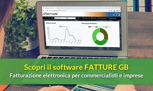 Software FATTURE GB: fatturazione elettronica per commercialisti e imprese