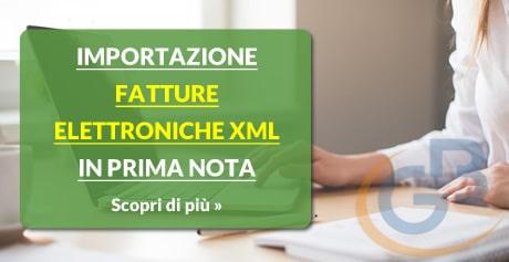 Scopri il software Importazione Fatture Elettroniche XML in Prima Nota