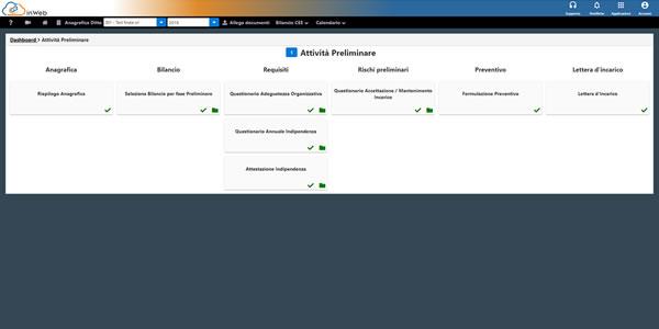 Software Revisione Legale GB - Attività preliminari