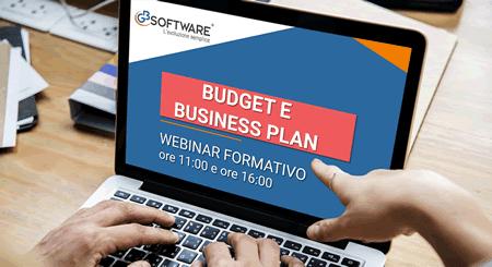 Webinar - Budget e Business Plan